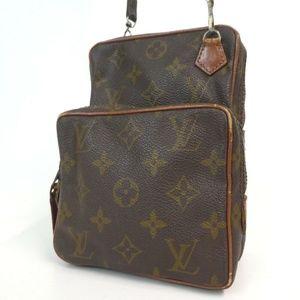 Auth Louis Vuitton Amazon Pm Crossbody #2149L83